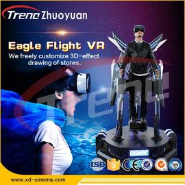 Easy Operation Stand Up Flight VR Simulator With Electric Motion Platform