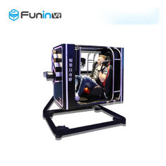 AC 220 High Return Fly Motion 9D VR Flight Simulator لاعب واحد شاشة 50 بوصة